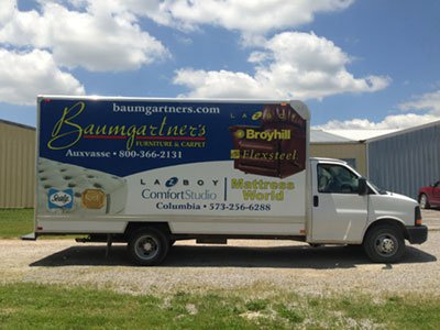 Look for One of Our Delivery Trucks on the Road!